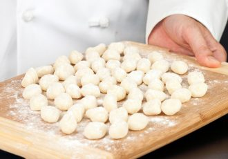 Ricotta gnocchi is a lighter and fluffier version of a gnocchi dish.